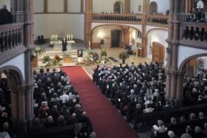 Trauergottesdienst in der Berliner Gethsemanekirche
